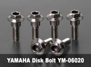 画像1: ヤマハ用ディスクローターボルトM6×20L
