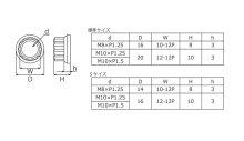 他の写真1: 12ポイントフランジナットSサイズM10×P1.5